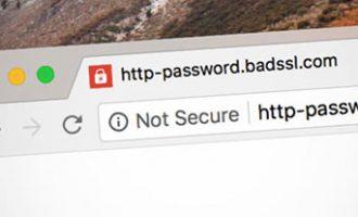 Chrome68将所有HTTP网站标记为不安全!你的网站HTTPS了吗?