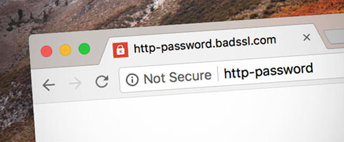 Chrome68将所有HTTP网站标记为不安全