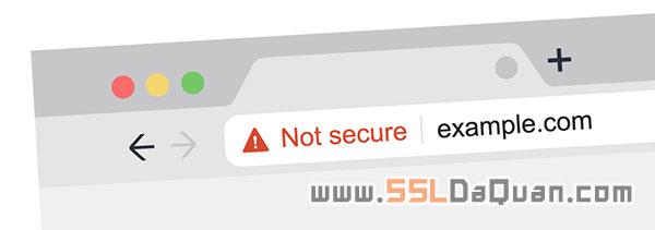 浏览器对HTTP网站提示不安全